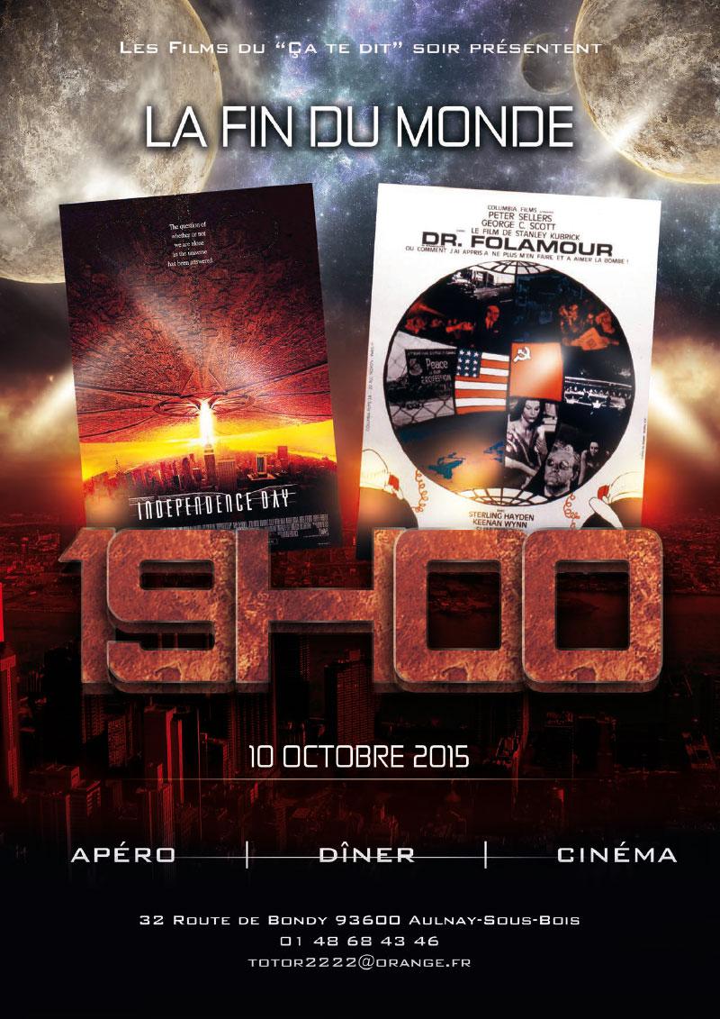 Infographiste Indépendant, création d'affiches de films, cinéma catastrophe