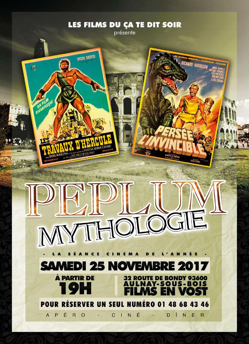 Infographiste Indépendant, création d'affiches de films, cinéma Péplum et Mythologie