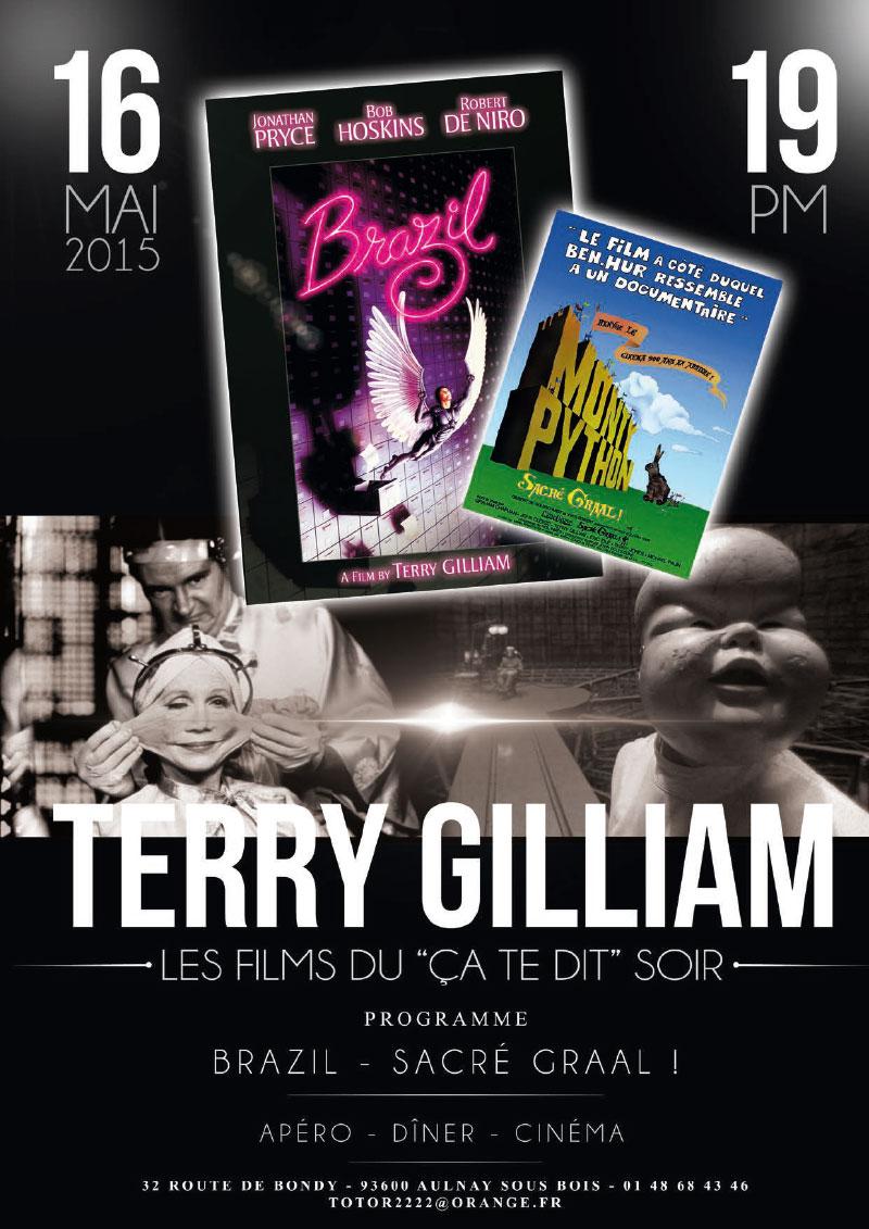 Infographiste Indépendant, création d'affiches de films, cinéma de Terry Gilliam
