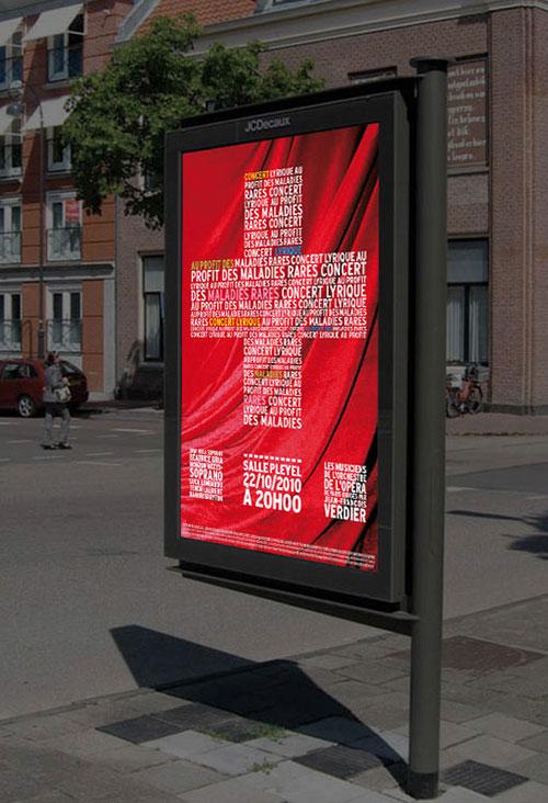 Infographiste indépendant, création d'affiche de musique d'opéra