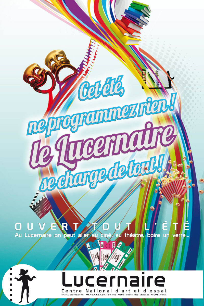 Infographiste indépendant, création d'affiches de théâtre, présentation de la saison