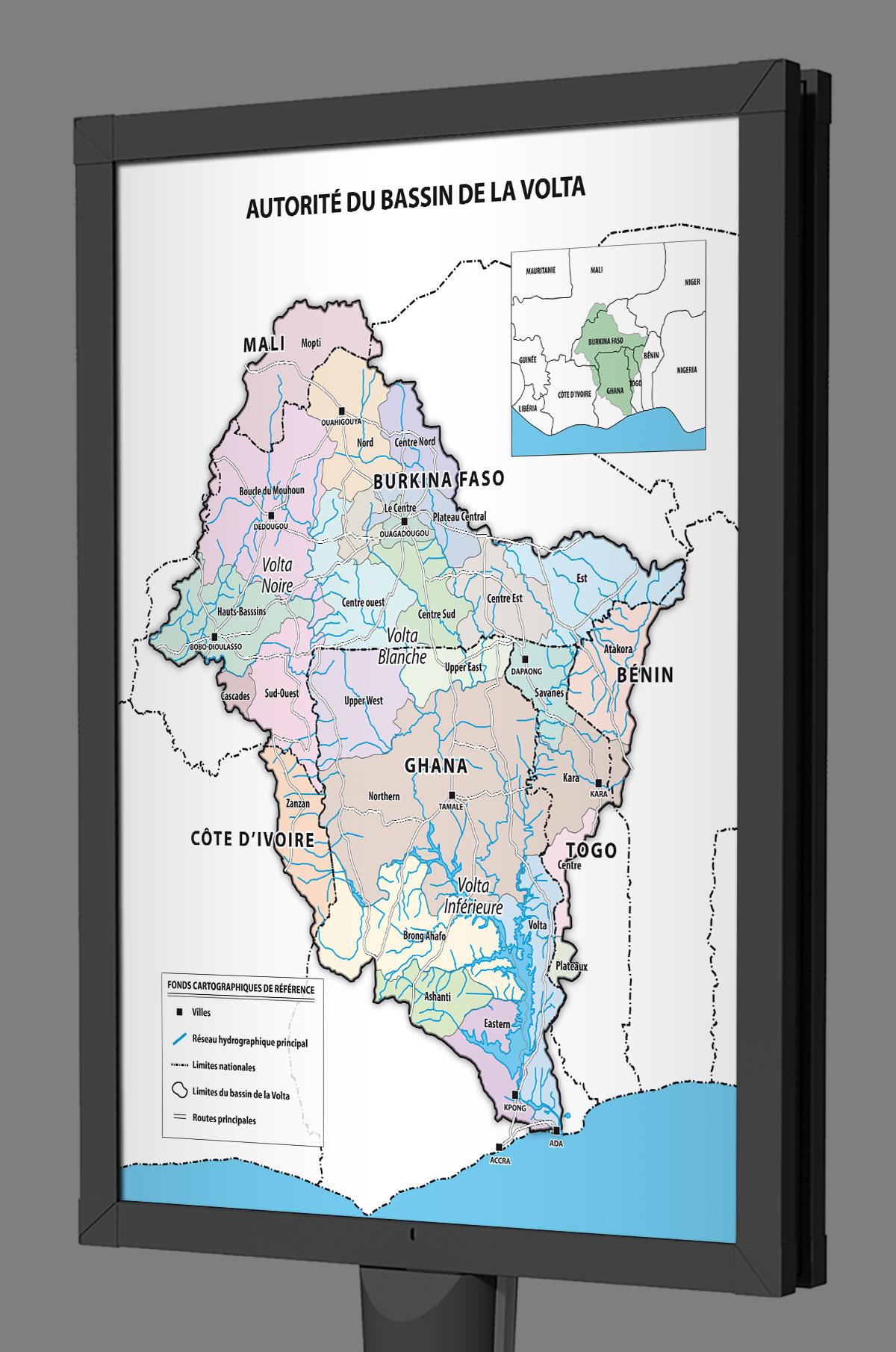 Infographiste indépendant, création et mise en page de cartographies et infographies, carte de pays