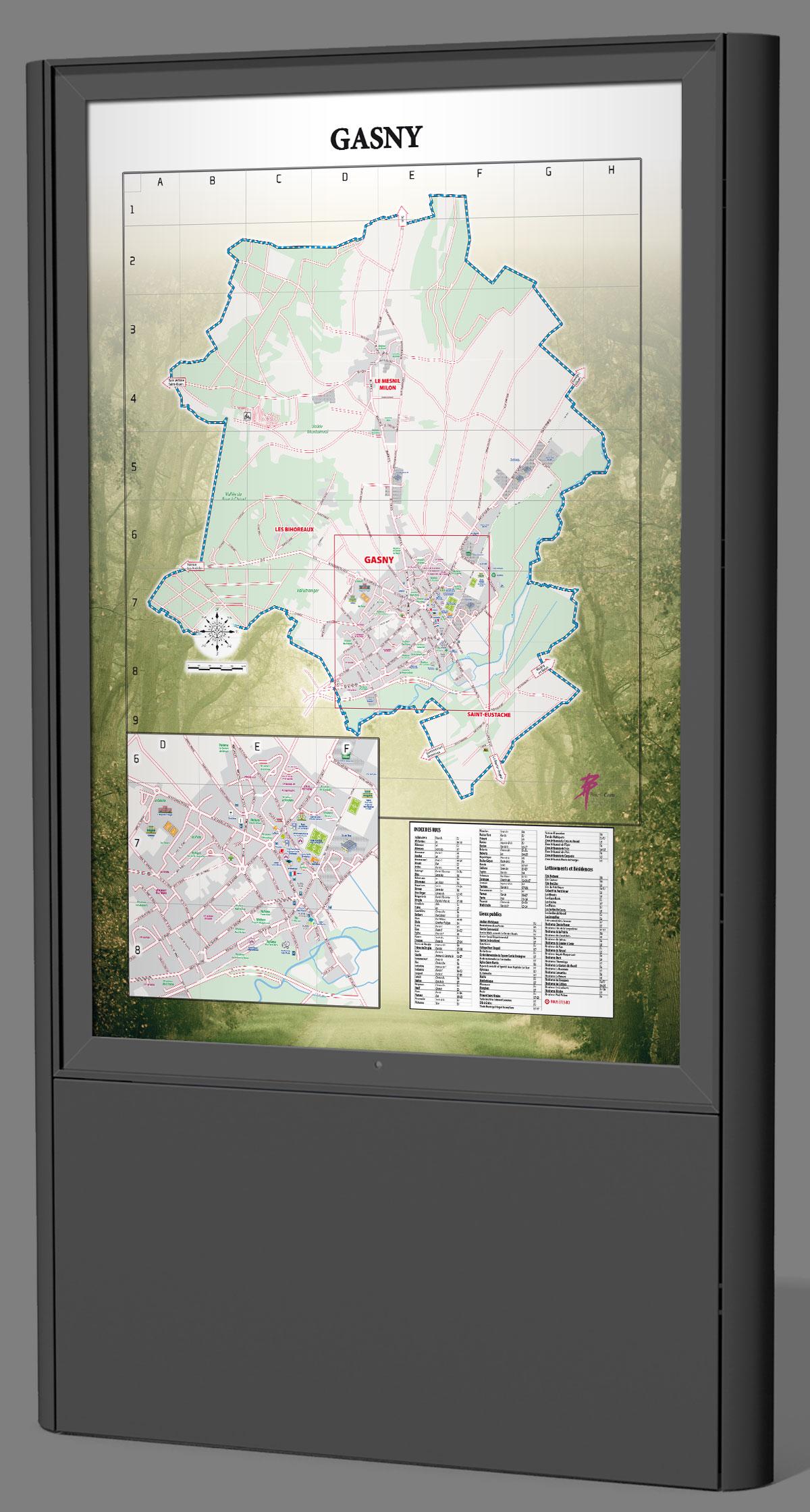 Infographiste indépendant, création et mise en page de cartographies et infographies, plan de ville