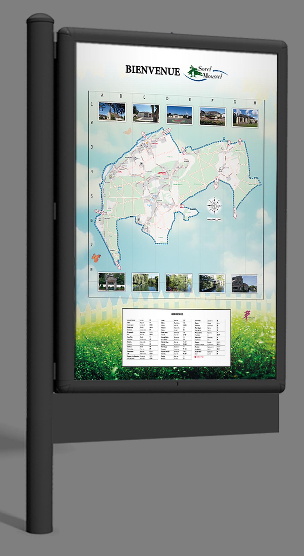 Infographiste indépendant, création et mise en page de cartographies et infographies, plan urbain
