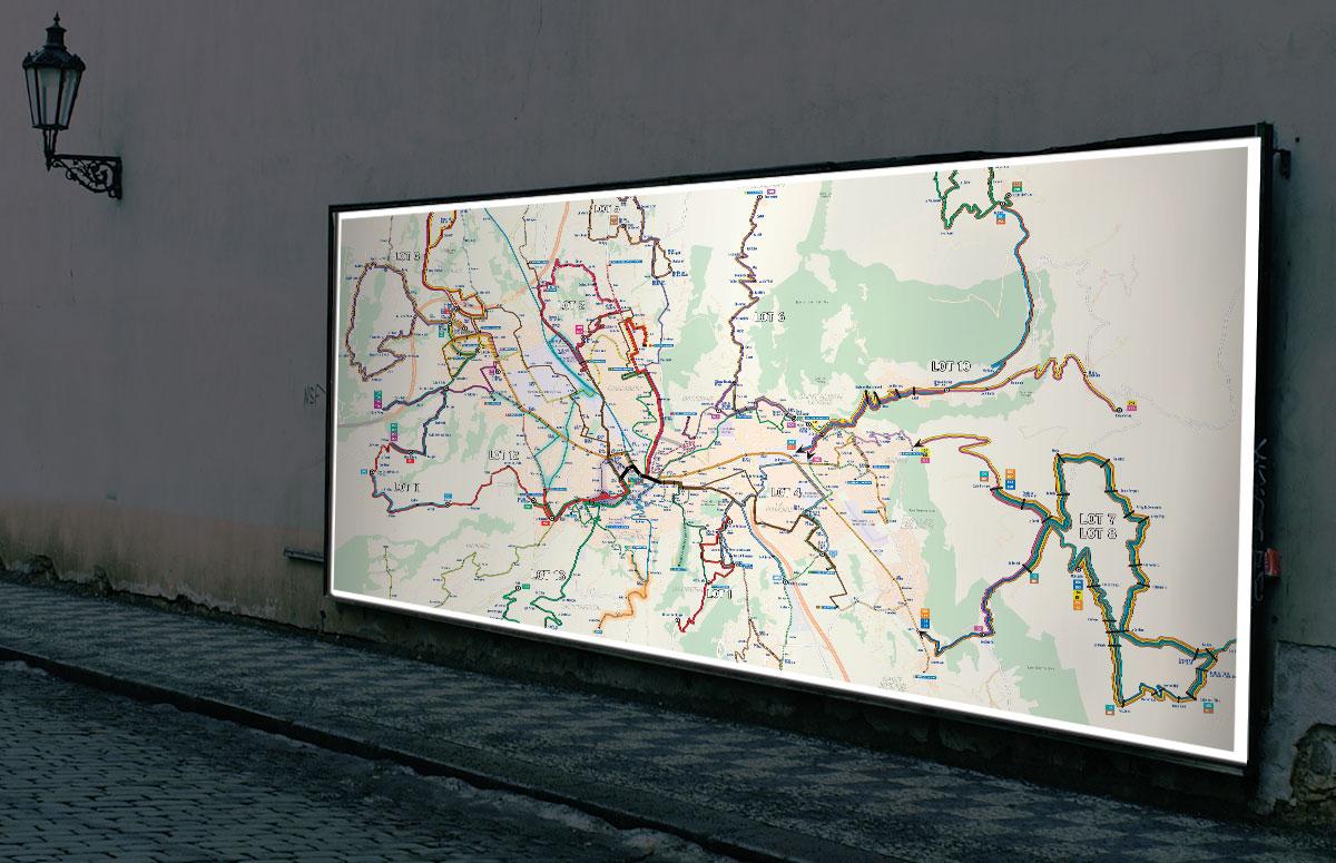 Infographiste indépendant, création et mise en page de cartographies et infographies, réseaux et lignes de région