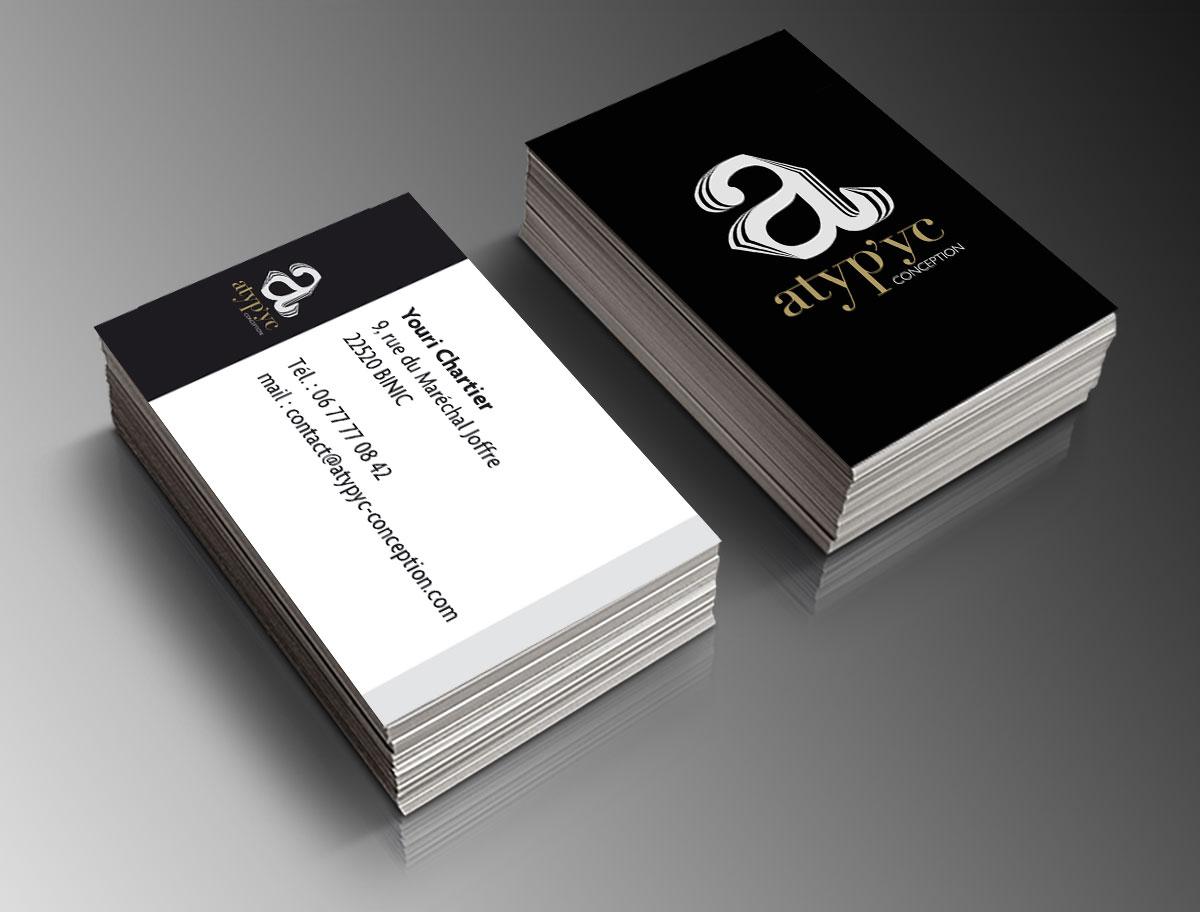 Infographiste indépendant, création de charte graphique, carte de visite d'imprimeur