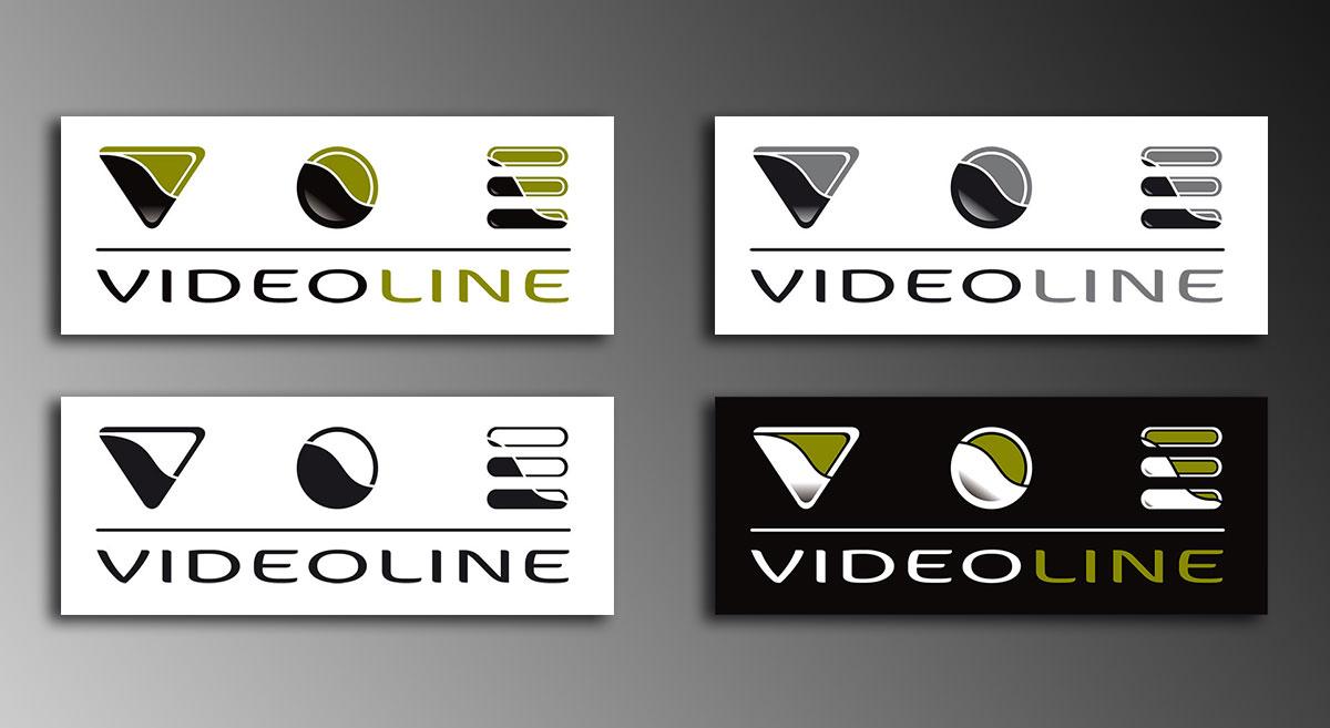 Infographiste indépendant, création de charte graphique pour entreprise d'installation de matériel vidéo, logo et identité visuelle