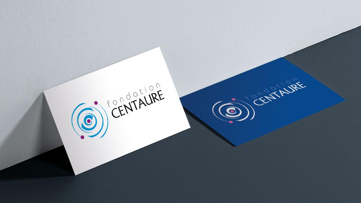Infographiste indépendant, création de charte graphique, logo et carte de visite fondation santé