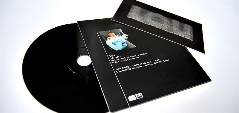 Infographiste indépendant, création graphique pochette de CD