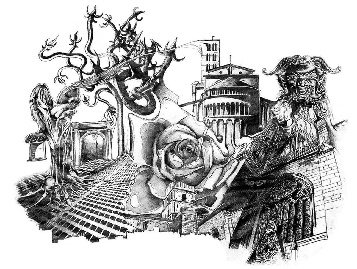 Infographiste indépendant, création d'illustrations, dessin architecture biologique 2