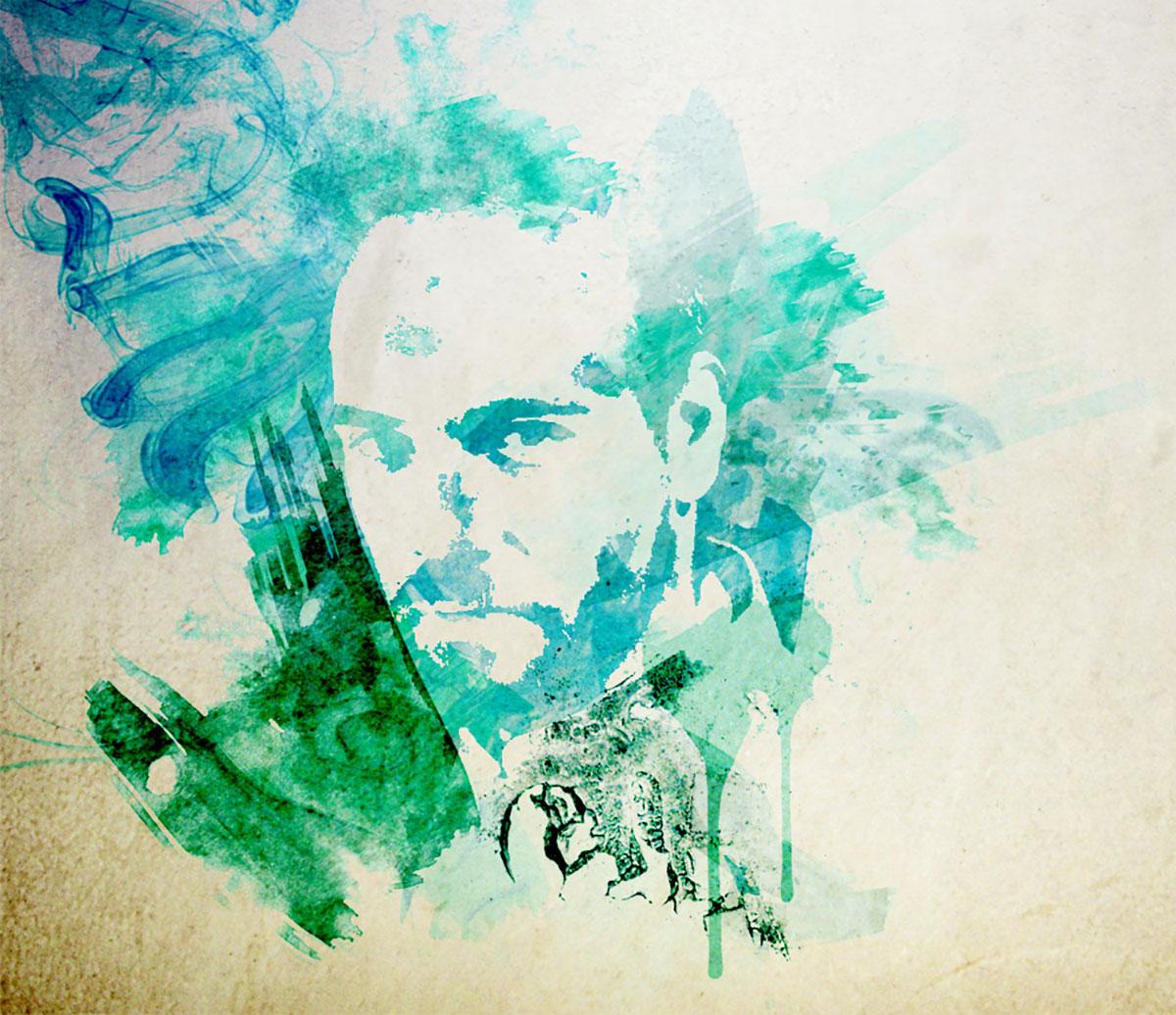 Infographiste indépendant, création d'illustrations, peinture portrait
