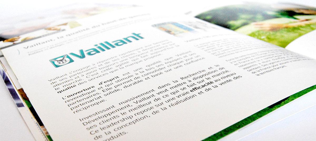 Infographiste indépendant, création et  mise en page de brochures sur les chaudières