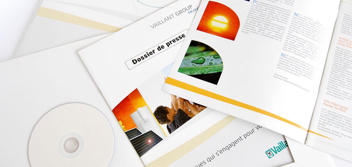 Infographiste indépendant, création et  mise en page de brochure dossier de presse entreprise