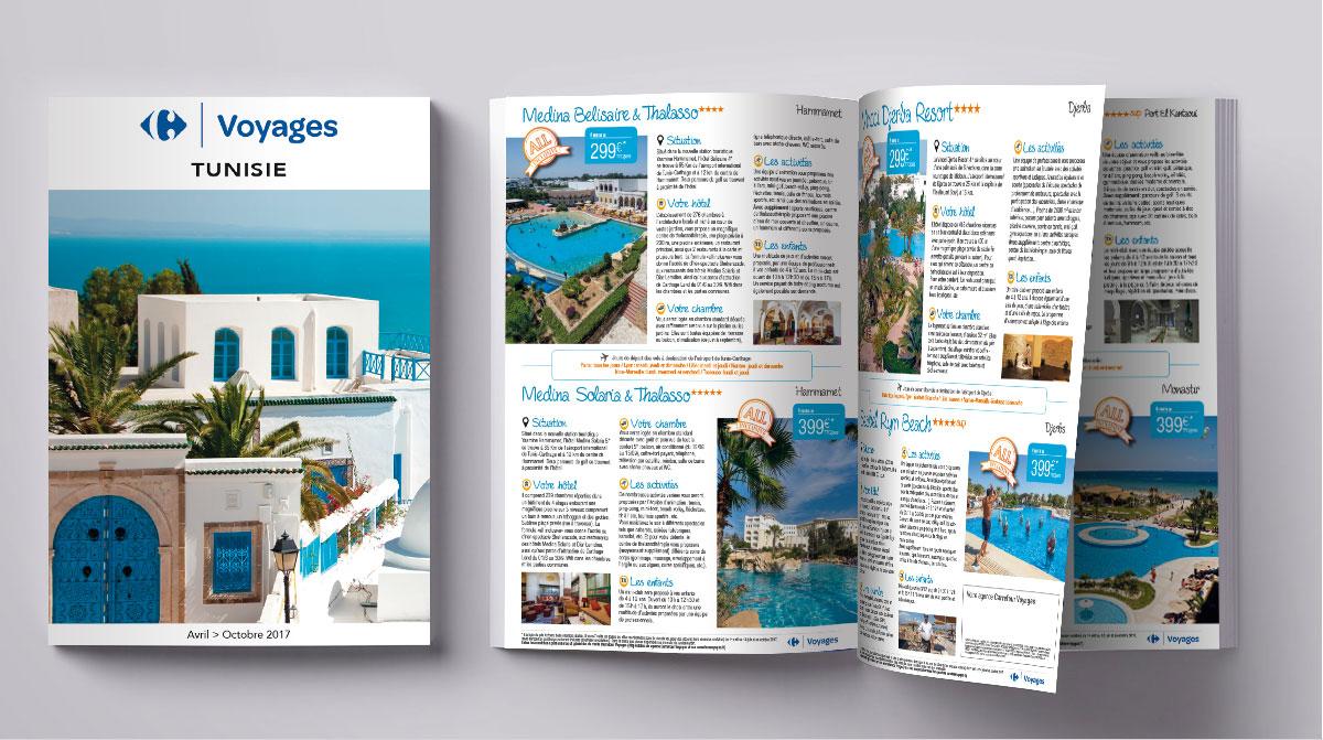 Infographiste indépendant, création et  mise en page de brochures vacances tourisme