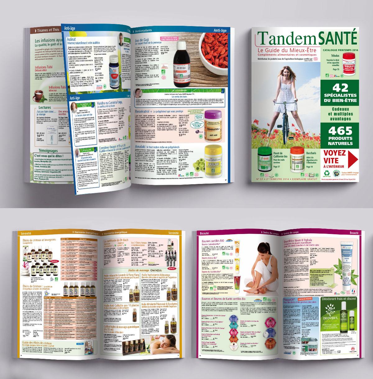 Infographiste indépendant, création et mise en page de catalogues de compléments