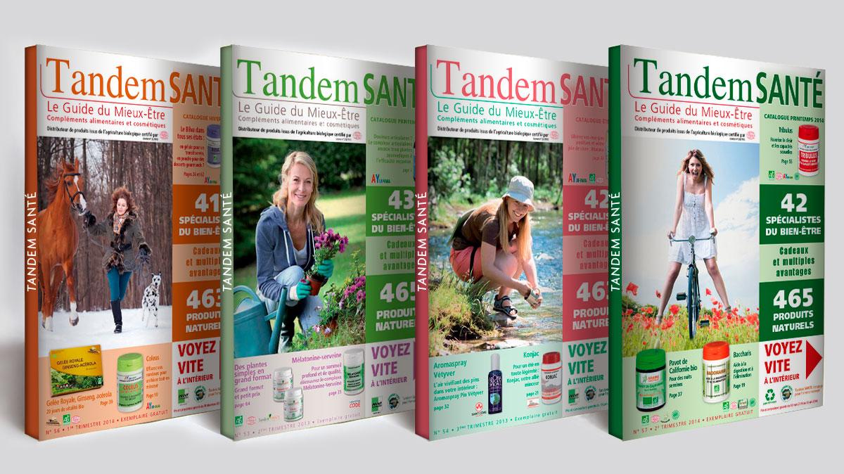 Infographiste indépendant, création et mise en page de catalogues de produits de santé