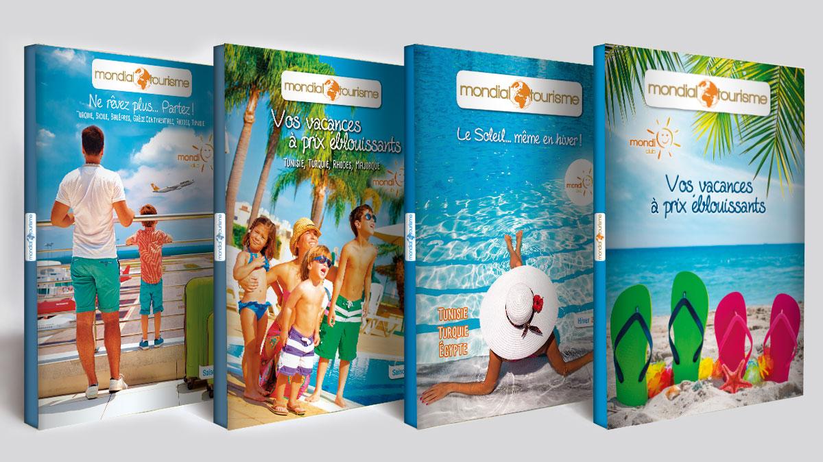 Infographiste indépendant, création et mise en page de catalogues de vacances