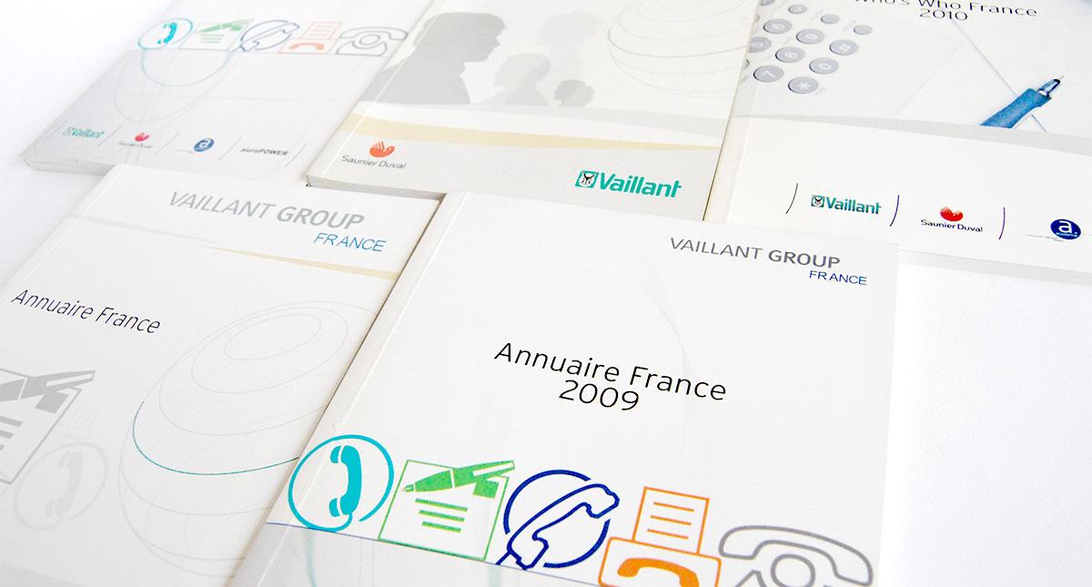 Infographiste indépendant, création et mise en page communication d'annuaires