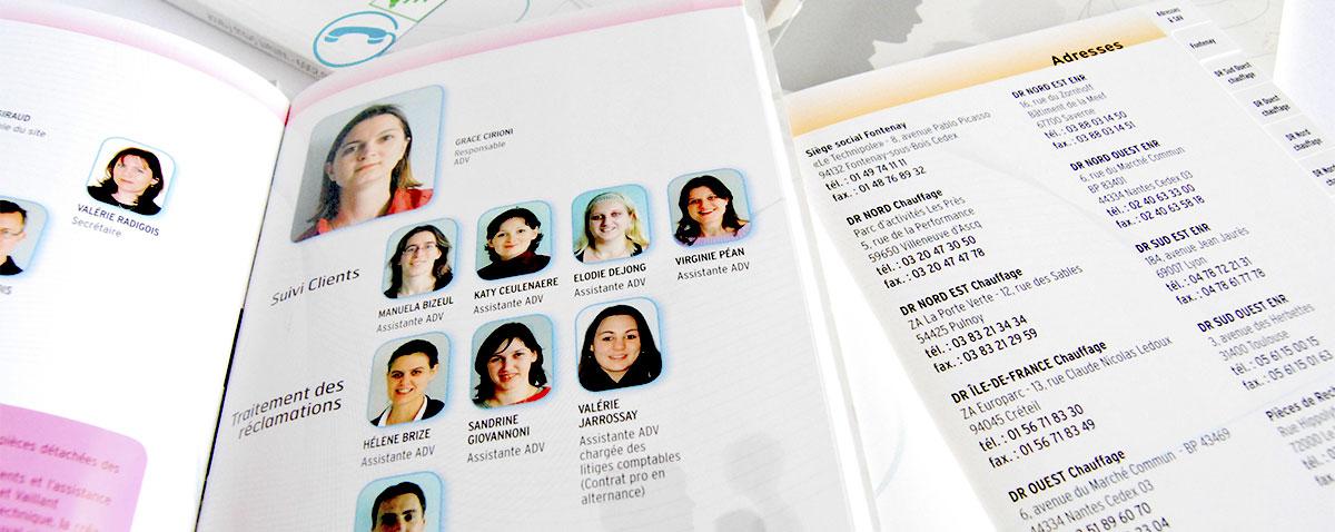 Infographiste indépendant, création et mise en page communication who's who et annuaire