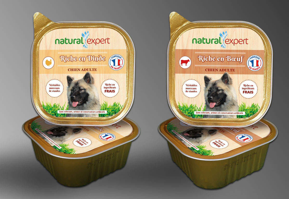 Infographiste indépendant, création et mise en page de communication, étiquettes alimentation animale