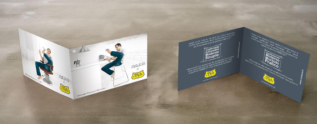 Infographiste indépendant, création et mise en page de communication, étiquettes vêtement sponsor