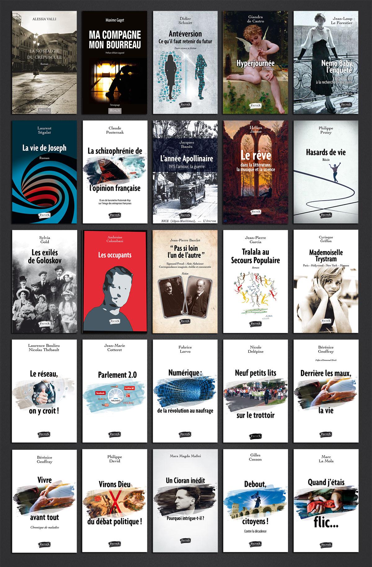 Infographiste indépendant, création et  mise en page de couvertures de livres de poche