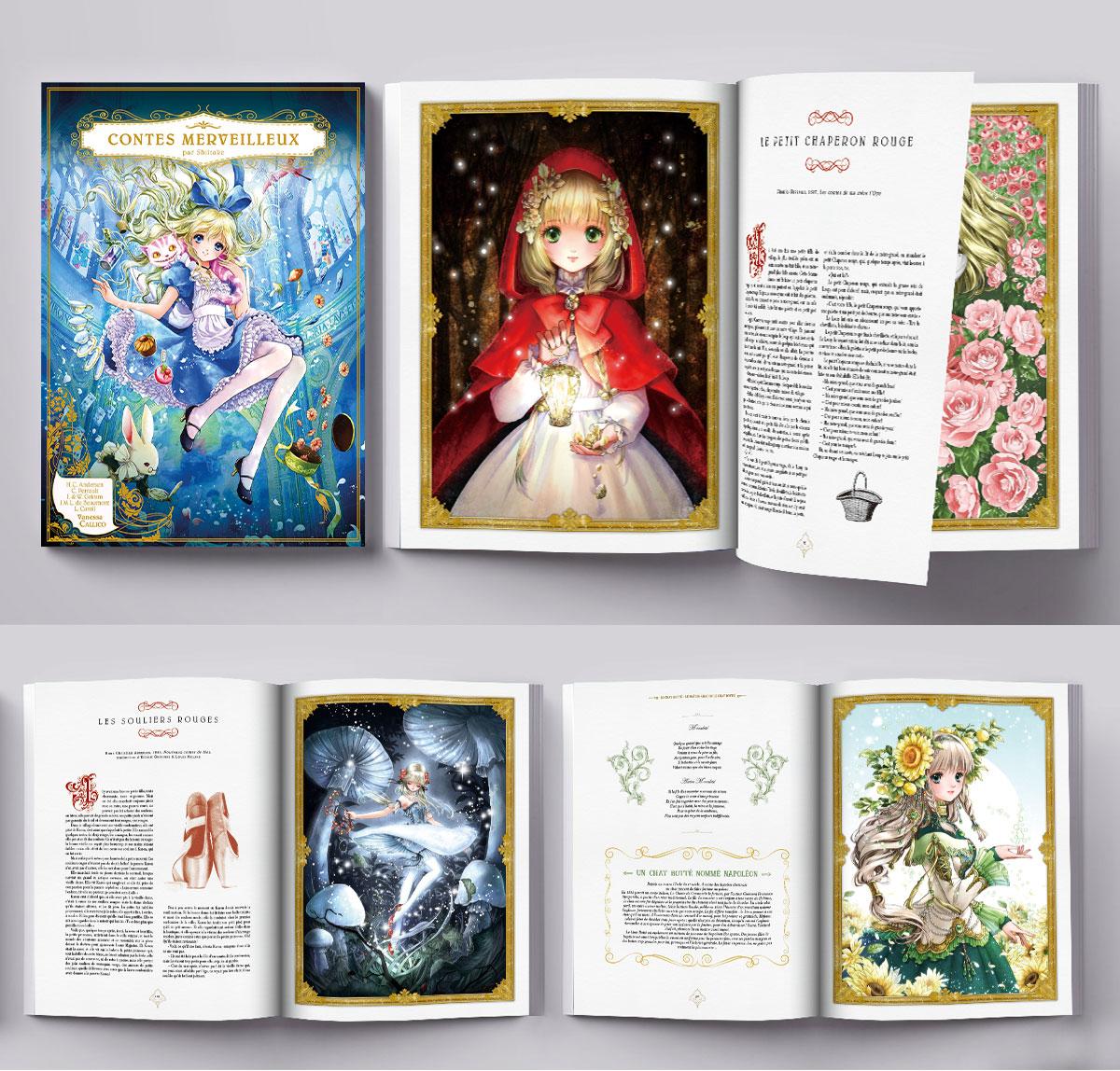 Infographiste indépendant, création et mise en page de livres encyclopédies jeunesse sur les contes