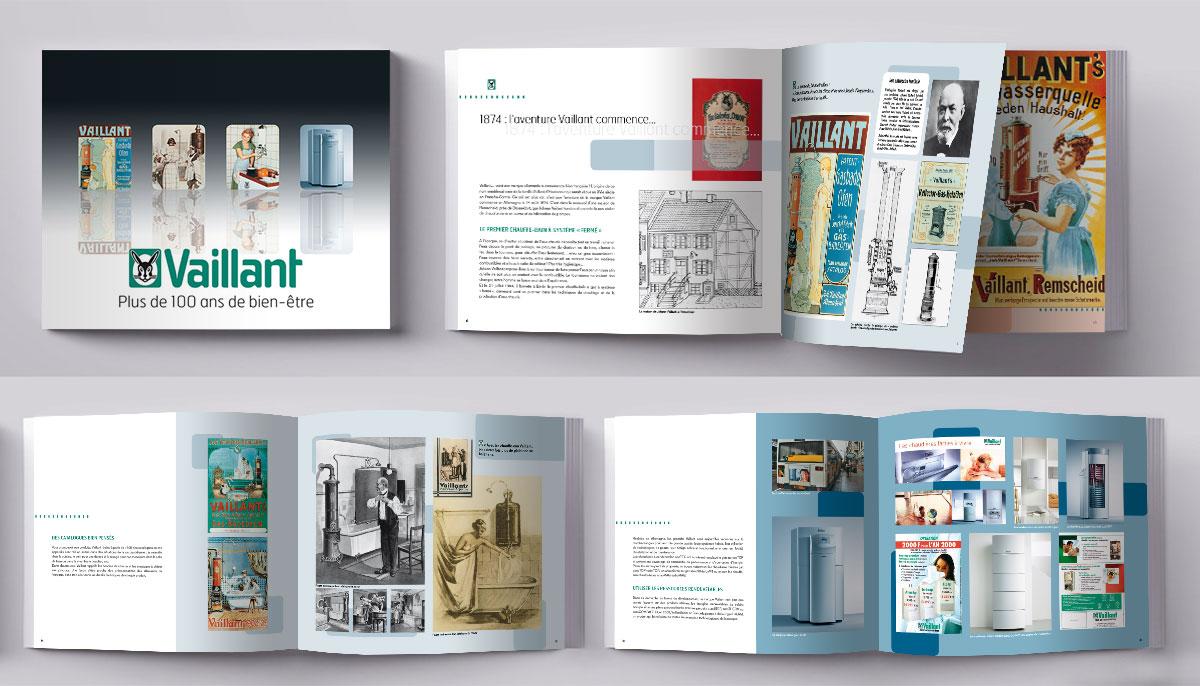 Création et mise en page de livres d'histoire d'une société
