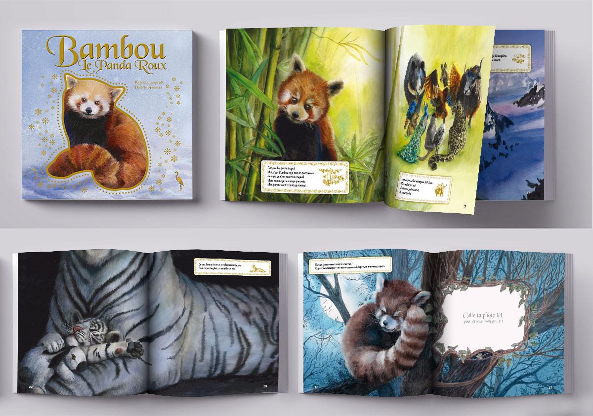 Infographiste indépendant, création et mise en page de livres jeunesse sur les animaux