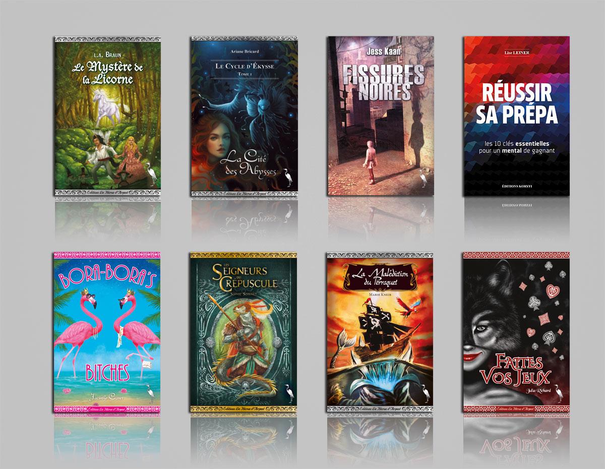 Infographiste indépendant, création et mise en page de livres jeunesse romans