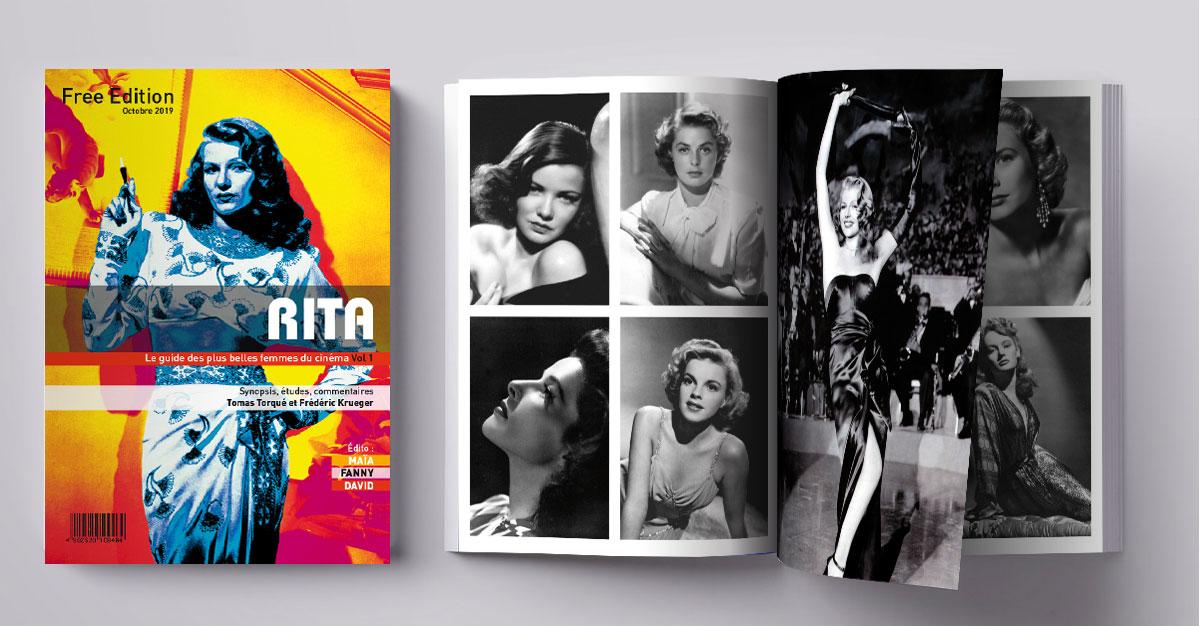 Infographiste indépendant, création et  mise en page de magazines sur les plus belles femmes du cinéma