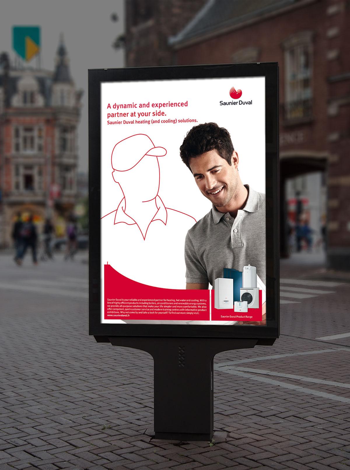 Infographiste Indépendant, création et mise en page de publicités entretien chauffage