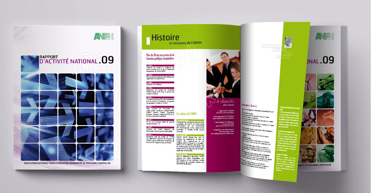 Infographiste indépendant, création et mise en page de rapports d'activité, formation
