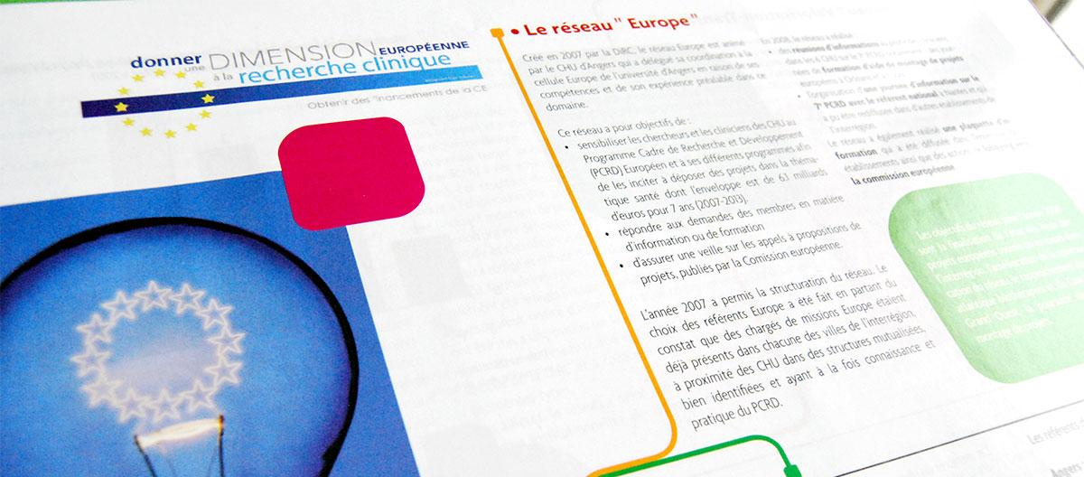 Infographiste indépendant, création et mise en page de rapports d'activité, réseau europe