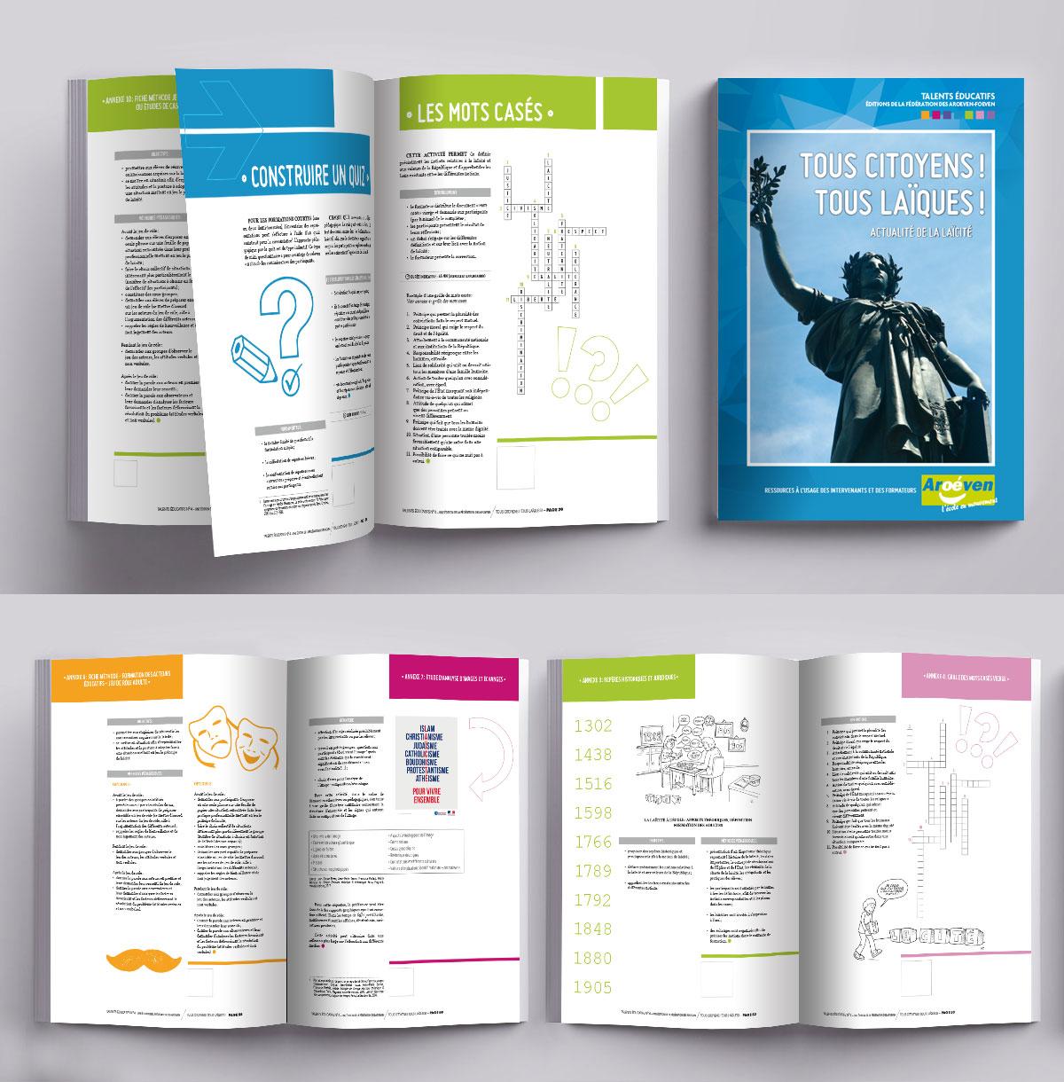 Infographiste Indépendant, création et mise en page de revues citoyennes