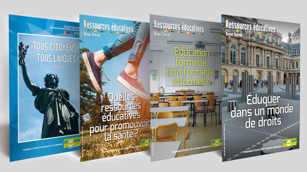 Infographiste Indépendant, création et mise en page de revues éducatifs