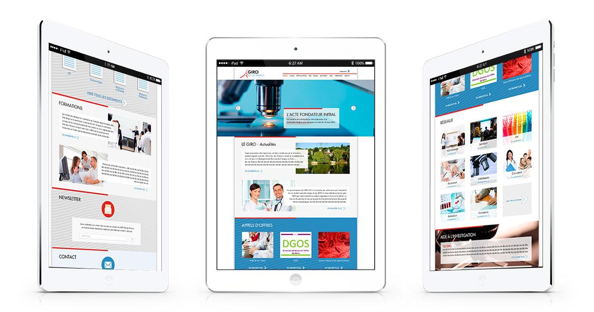 Infographiste indépendant, création de site internet santé interregion